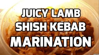 How To Marinade Meat (Lamb, Beef, Chicken, etc) For Shish Kebab