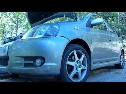 How to do an oil change on Toyota Yaris / Echo / Vitz 1.5 vvti