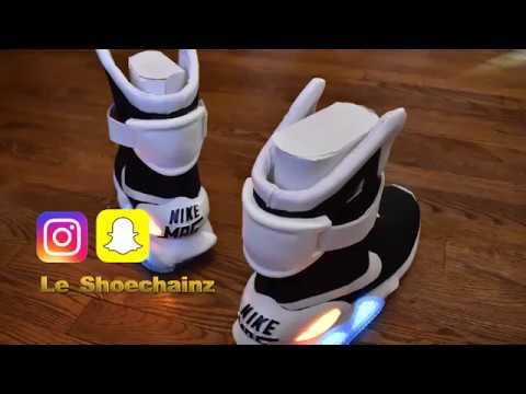 HypeBeast Kicks | Nike Air MAG Lite | Making The Nike Air Mags Custom