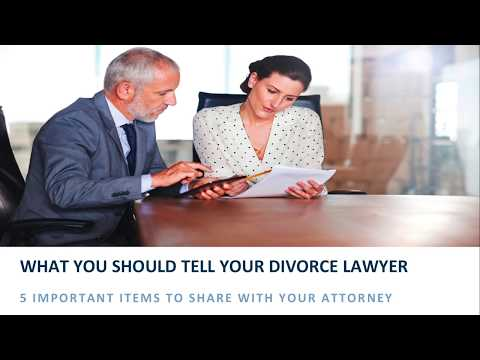 5 Secrets You Shouldn't Hide From Your Divorce Attorney