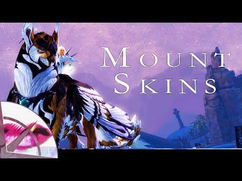 Guild Wars 2 | Mount Skin Showcase | The Krytan Herald