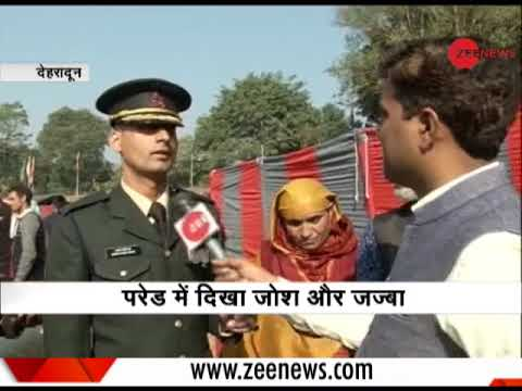 Indian Military Academy passing parade at Dehradun; Army set to get 409 new officers