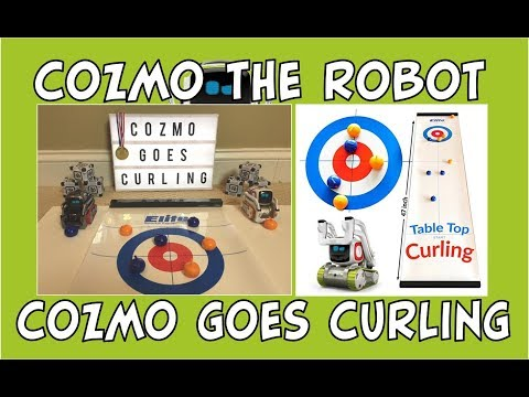 Cozmo the Olympic Robot | Cozmo Goes Curling | Episode #79 | #cozmoments