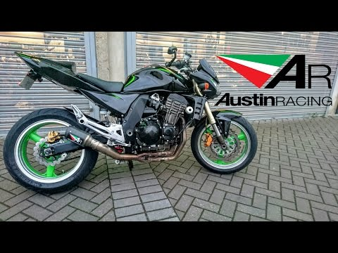 2004 KAWASAKI Z1000 AUSTIN RACING EXHAUST
