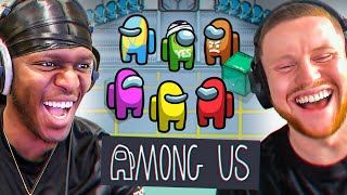 SIDEMEN play AMONG US but it's the STRANGEST play ever... (Sidemen Gaming)