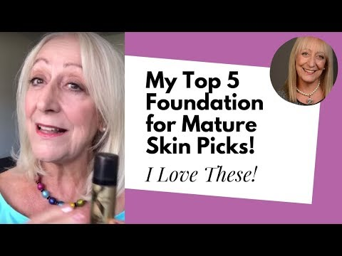 My Best Foundation for Mature Skin Picks + More Makeup for Older Women Tips!
