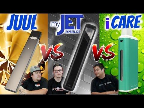 Juul vs Myjet vs iCare BEST Review EVER!