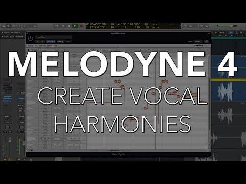 Create Vocal Harmonies | MELODYNE 4