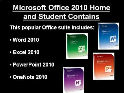 Microsoft Office Home and Student 2010 - Get The Best Price Now!