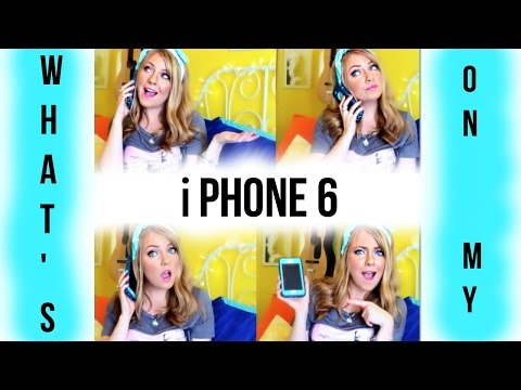 What' On My iPhone 6?!