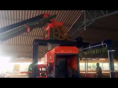 Semi Automatic Clay Brick Making Machine