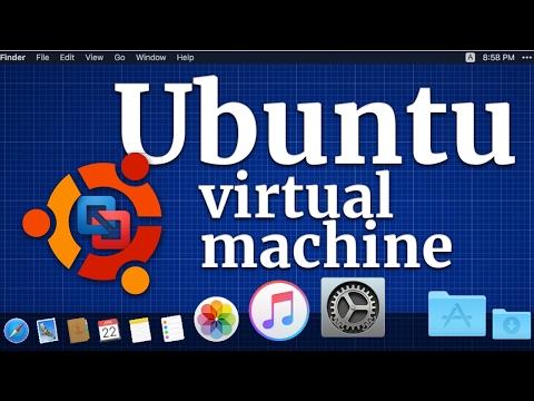 How to install Ubuntu Server virtual machine in macOS