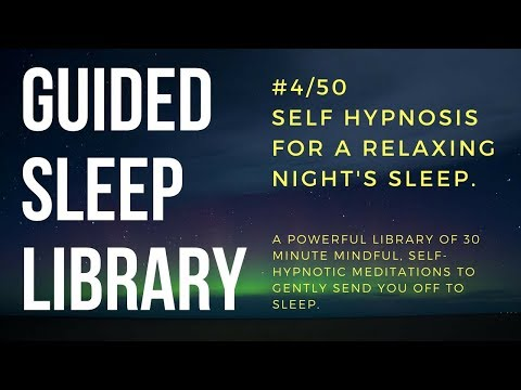#4/50. Best guided self hypnosis audio for beating insomnia - EnTrance Total Sleep Library - 30 min