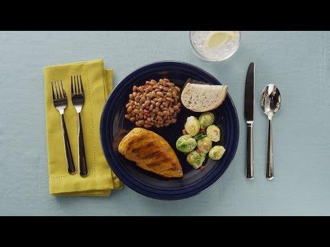 Brown Sugar & Orange Glazed Chicken: BUSH'S® DINspiration #2
