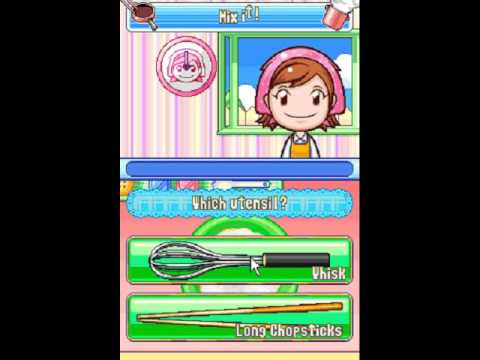 Let's Play Cooking Mama 2 - p1 What the Flipper-Doodle Wahdal-Doddle!