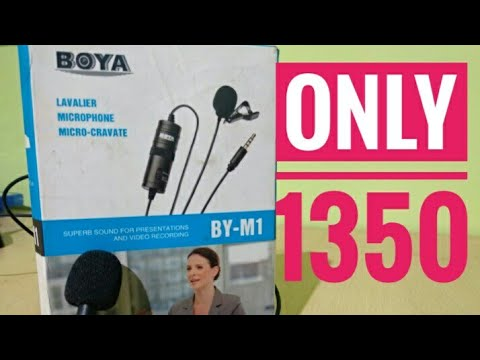 Boya collar mic only ₹1350 only for today