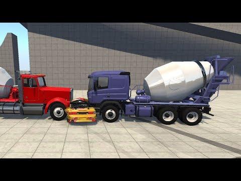 BeamNG.drive - Semi Euro Truck