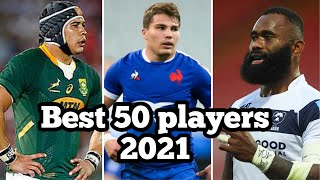 Top 50 Best Rugby Players 2021