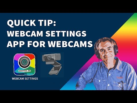 Quick Tip: How to Use Webcam Settings App on Mac