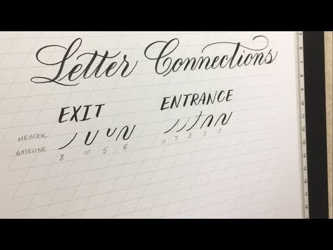 Connecting Letters (1 of 6): Introduction