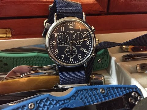 Timex Chronograph Weekender - Watch Overview