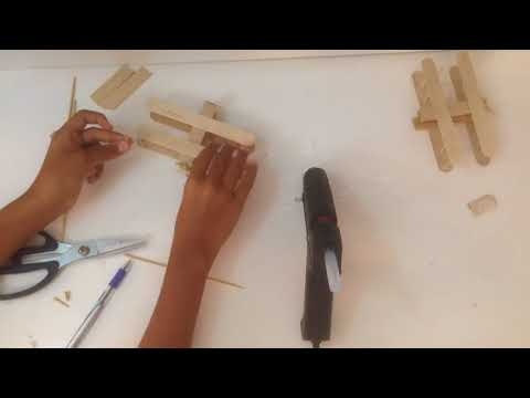 How to invent a plane by woods stick