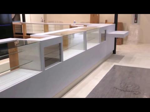 Custom Dispensary Displays Built for H2C Dispensary