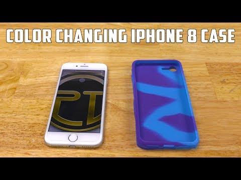 DIY Apple iPhone 8 Silicone Case   Changes Color In Sunlight