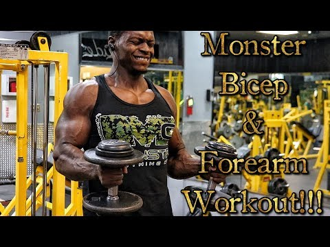 Monster Bicep & Forearm Workout