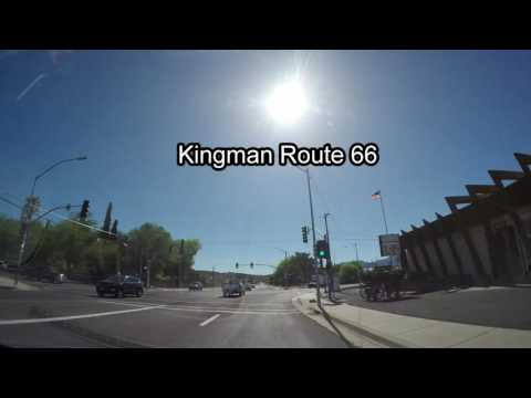 Drive from Las Vegas to Hoover Dam- Grand Canyon Kingman Route 66-Williams GoPro Time Lapse Part 1