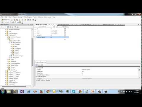 SQL Server Bangla Tutorial 7   Default Constraint