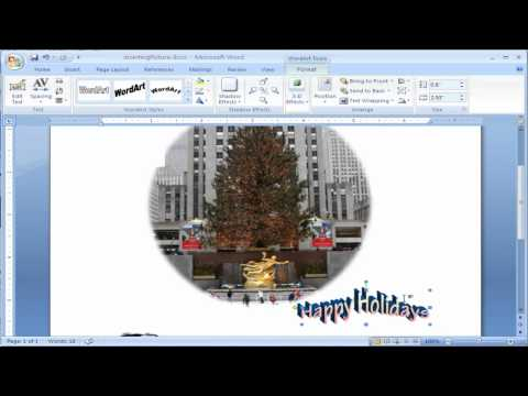 How to Add Word Art to Microsoft Word 2007
