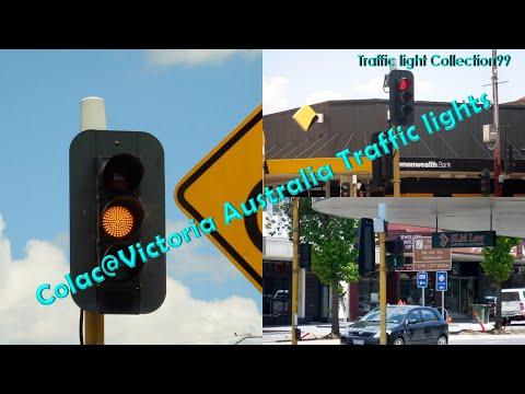 Colac@Victoria Australia Traffic lights