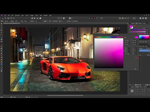 Affinity Photo Tutorial  - Change Colors of Anything Easily