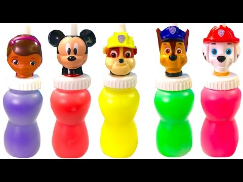 -  Paw Patrol Mickey Mouse Slime Surprise Toys