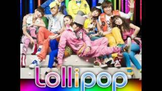 Lollipop - Big Bang & 2NE1 (Audio+Lyrics) HD