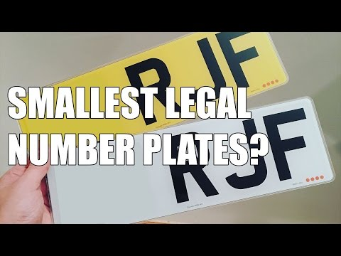 Smallest Legal Plates | FourDot Designer Number Plates | Chasing Status | S03E10