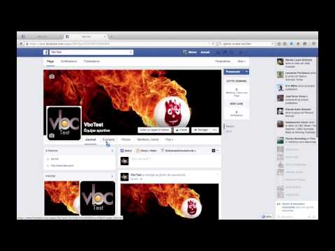 Création d'une page Facebook pour un club de volleyball