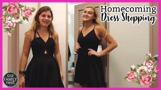 Homecoming Dress Shopping!