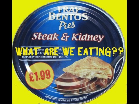 Steak and Kidney Pie In A CAN - WHAT ARE WE EATING?? - The Wolfe Pit