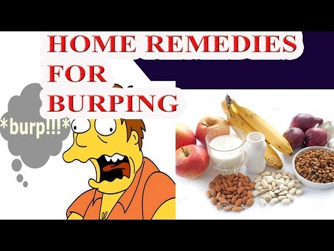 Home Remedies for Burping