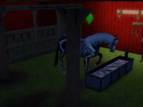 Desmond my Sims 3 Horse