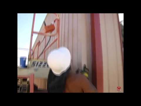 American Outback Steel Buildings   Step 28 Install Gutter Downspouts HD, 720p