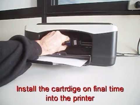 Level reset instructions HP inkjet cartridge n.21 22 27 28 46 56 57 58 338 339 343 344 348