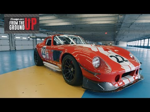 Joey Logano drives the Snap-on Factory Five Daytona Coupe | From the Ground Up™