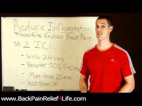 Back Pain Relief4Life REDUCE INFLAMMATION # 2