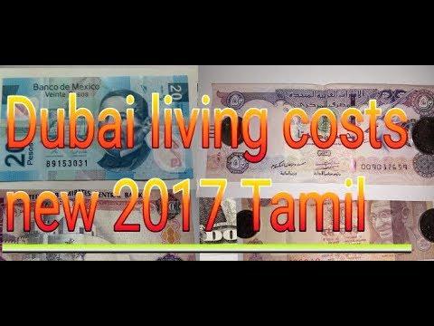 cost of living in Dubai tamil 2017