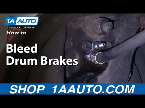 1AAuto.com How To Bleed Drum Brakes