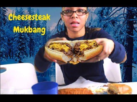 Cheesesteak Mukbang