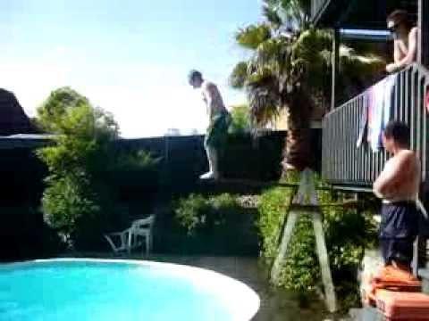 home made divingboard
